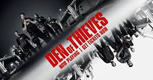 Berk Reviews Den of Thieves (2018)