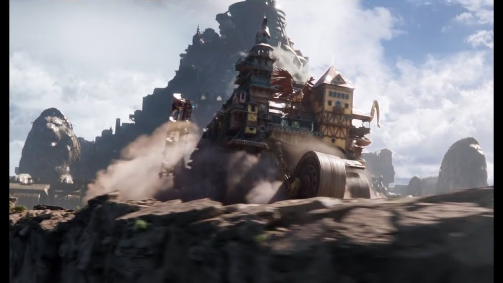 Mortal Engines (2018) reviewed by Jonathan Berk – Berkreviews.com
