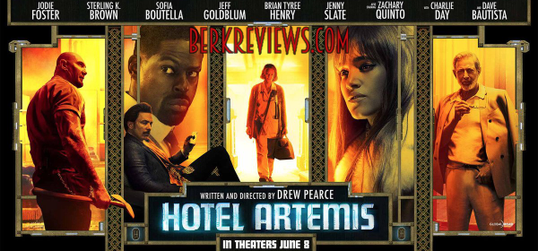 Hotel Artemis (2018) reviewed by Jonathan Berk