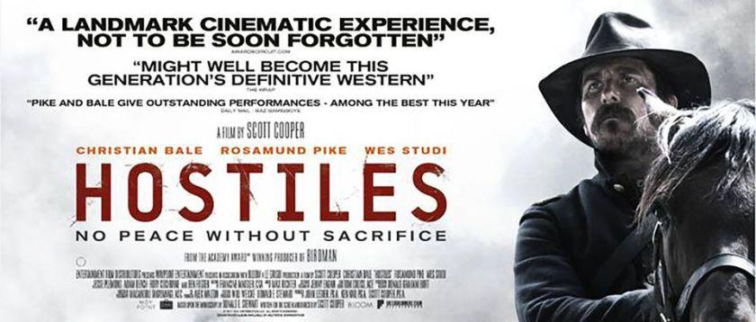 Berk Reviews Hostiles (2017)